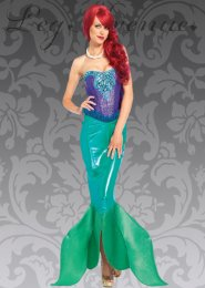 Leg Avenue Deep Sea Siren Mermaid Costume