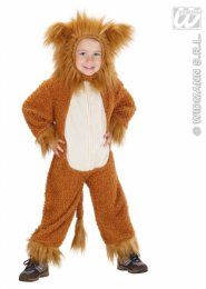 Toddlers Size Cute Lion Costume