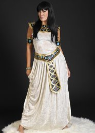 Ladies Plus Size Cleopatra Costume