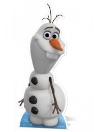 Disney Frozen Olaf Life Size Card Cut Out