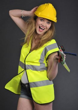 Builder's Fancy Dress High Visibility Vest