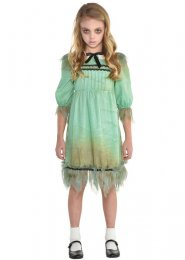 Childrens The Shining Style Creepy Girl Costume