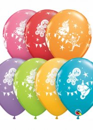 Circus Parade Childrens Party Balloons Pack 5