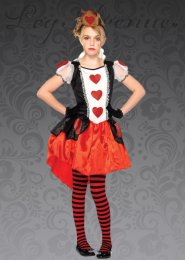 Kids Leg Avenue Wonderland Queen Costume