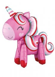 Pink Magical Unicorn Standing Balloon Decoration