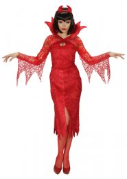 Womens Halloween Diablesse Devil Costume