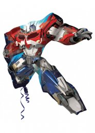 Inflated Transformers Optimus Prime Helium Balloon