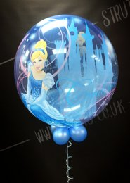 Childrens Disney Cinderella Bubble Balloon