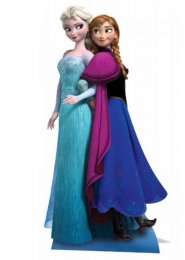 Disney Frozen Anna and Elsa Life Size Cut Out