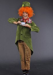 Teen Size Mad Hatter Style Costume
