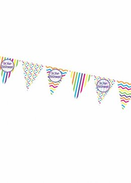 Retirement Party Triangle Bunting Decoration