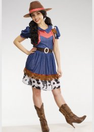 Womens Petite Western Cowgirl Costume