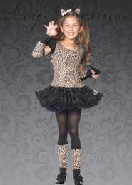 Leg Avenue Kids Leopard Costume