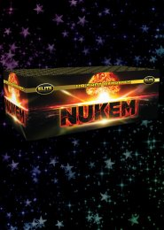 Nukem Compound Barrage Firework Display Kit