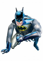 Inflated Large Batman Airwalker Foil Balloon