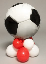 Inflated World Cup Football Balloon Table Centrepiece