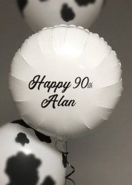 Inflated Personalised Foil Balloon