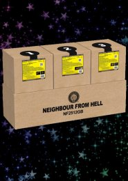 Neighbour From Hell Firework Display Kit