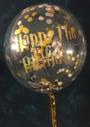 Personalised Harry Potter Birthday Bubble Balloon