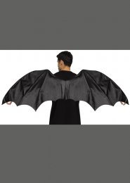 Adult Size Gothic Black Dragon Wings