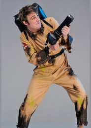 Adult Halloween Deluxe Ghostbusters Costume