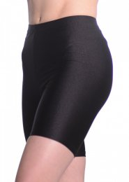 Black Lycra Dance Cycle Shorts