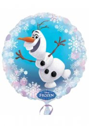 Inflated Disney Frozen Party Olaf Helium Balloon