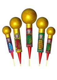 The Nuts Rocket Fireworks Pack 5
