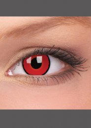 Halloween Red Voldemort Eye Lenses 1 Year