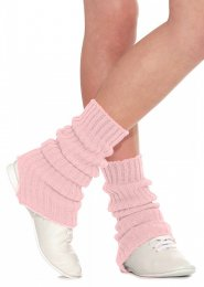Pale Pink Stirrup Dance Leg Warmers 60cm