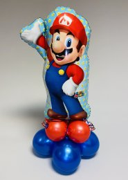 Inflated Large Super Mario Shape Balloon Centrepiece