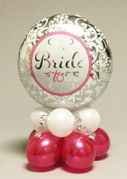 Bride To Be Hen Party Inflated Balloon Table Centrepiece
