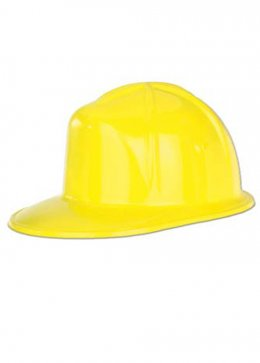 Yellow Plastic Builders Hat
