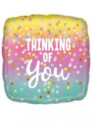 Inflated Dots Thinking of You Helium Balloon