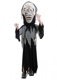 Childrens Halloween Big Head Fright Ghoul Costume