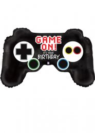 Inflated Game Controller Shaped Helium Balloon