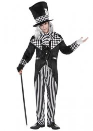 Mens Gothic Totally Twisted Mad Hatter Costume