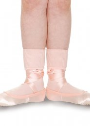 Childrens Pink Ballet Socks