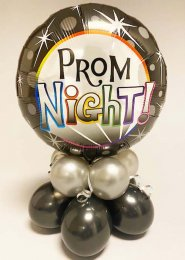 Prom Night Inflated Balloon Centrepiece