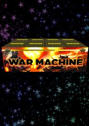 War Machine Compound Barrage Firework Display Kit