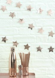Rose Gold Star Garland Party Decoration