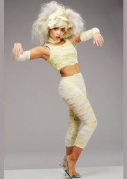 Womens Petite Egyptain Mummy Girl Costume