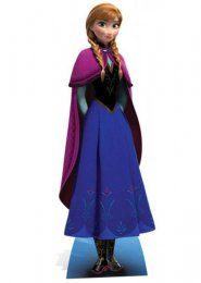 Disney Frozen Anna Life Size Card Cut Out