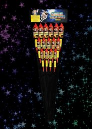 Extreme Machines Rocket Fireworks Pack 15