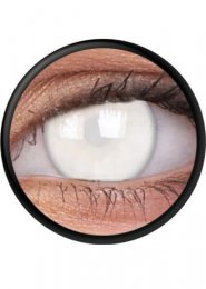 Halloween Blind White Zombie Eye Lenses 1 Year