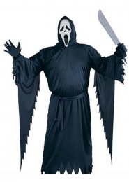 Adult XL Scream Halloween Costume