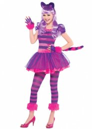 Teen Size Cute Pink Cheshire Cat Costume
