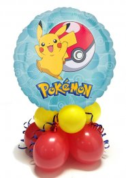 Pokemon Pikachu Inflated Balloon Table Centrepiece