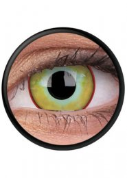 Halloween Yellow Plague Eye Lenses 1 Year