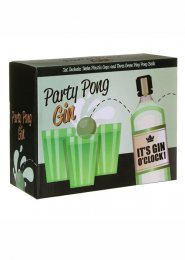 Party Game Gin Pong Drinking Game